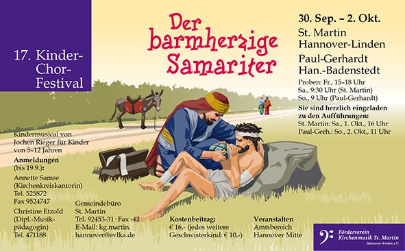 17. Kinder-Chor-Festival »Der barmherzige Samariter«