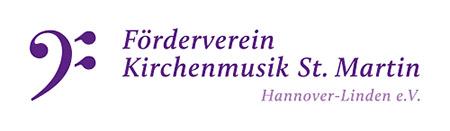 Logo Förderverein Kirchenmusik St. Martin Hannover-Linden e.V.