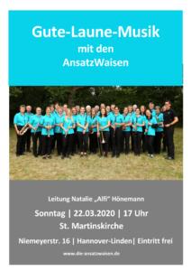 Plakat 22.03.2020 AnsatzWaisen Gute-Laune-Musik